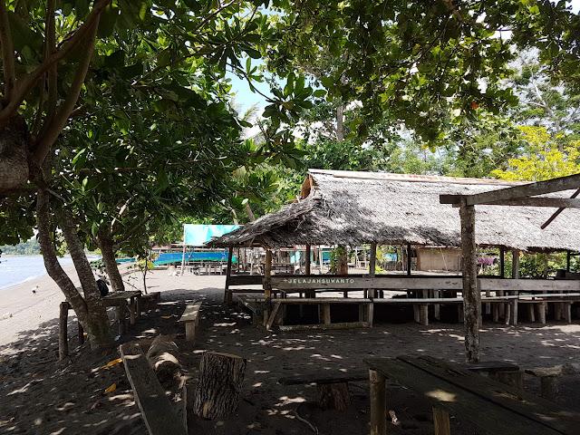 Sabua di Pantai Surabaya, Wineru, Likupang Timur +jelajahsuwanto