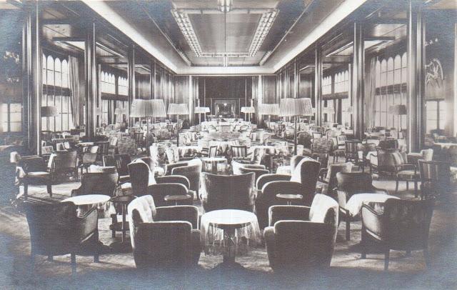 Main Salon first class on Bremen