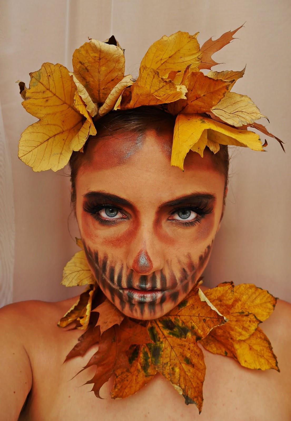 makijaż halloween dynia wet n wild cosmetics karyn blog modowy