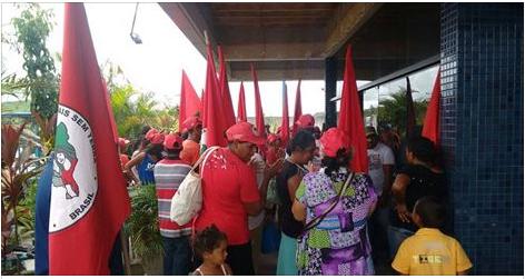 Mulheres Sem Terra ocuparam agências do INSS em Delmiro Gouveia e mais 6 cidades de Alagoas