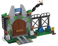 Toy Fair 2018 LEGO Juniors Jurassic World Trex Breakout