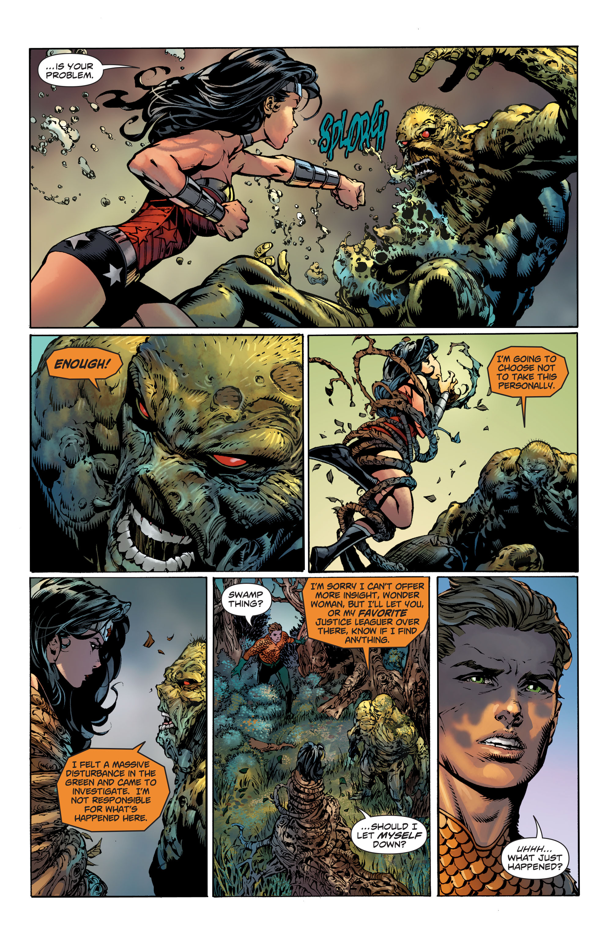 Read online Wonder Woman (2011) comic -  Issue #36 - 15