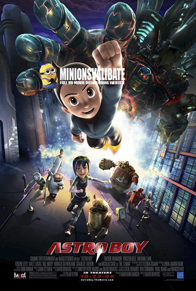 Astro Boy 2009 full HD movie dowwnload in hindi