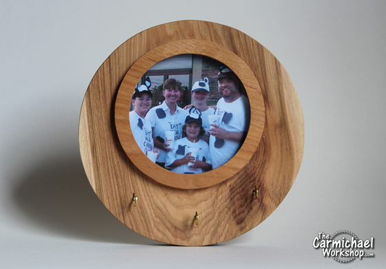 Circle Picture Frame by The Carmichael Workshop