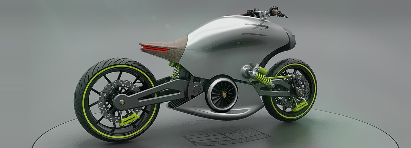 see the new porsche 618 electric motorcycle concept. Black Bedroom Furniture Sets. Home Design Ideas