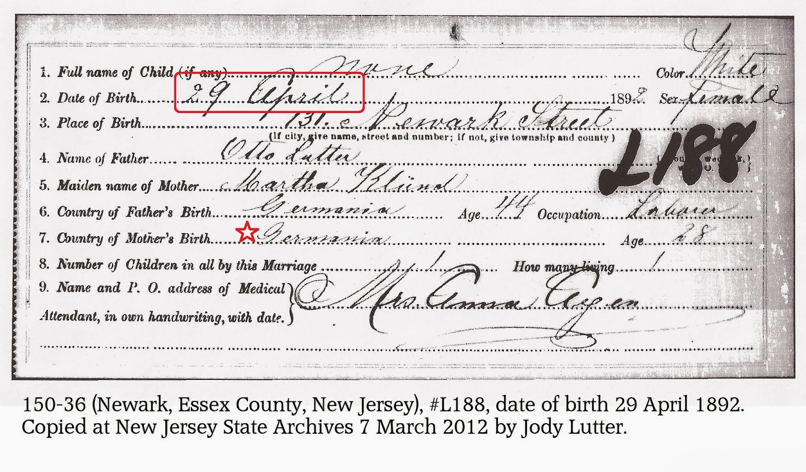 Lost birth certificate nj best design sertificate 2017 hawaii birth certificate 1963 snarkybytes xflitez Choice Image
