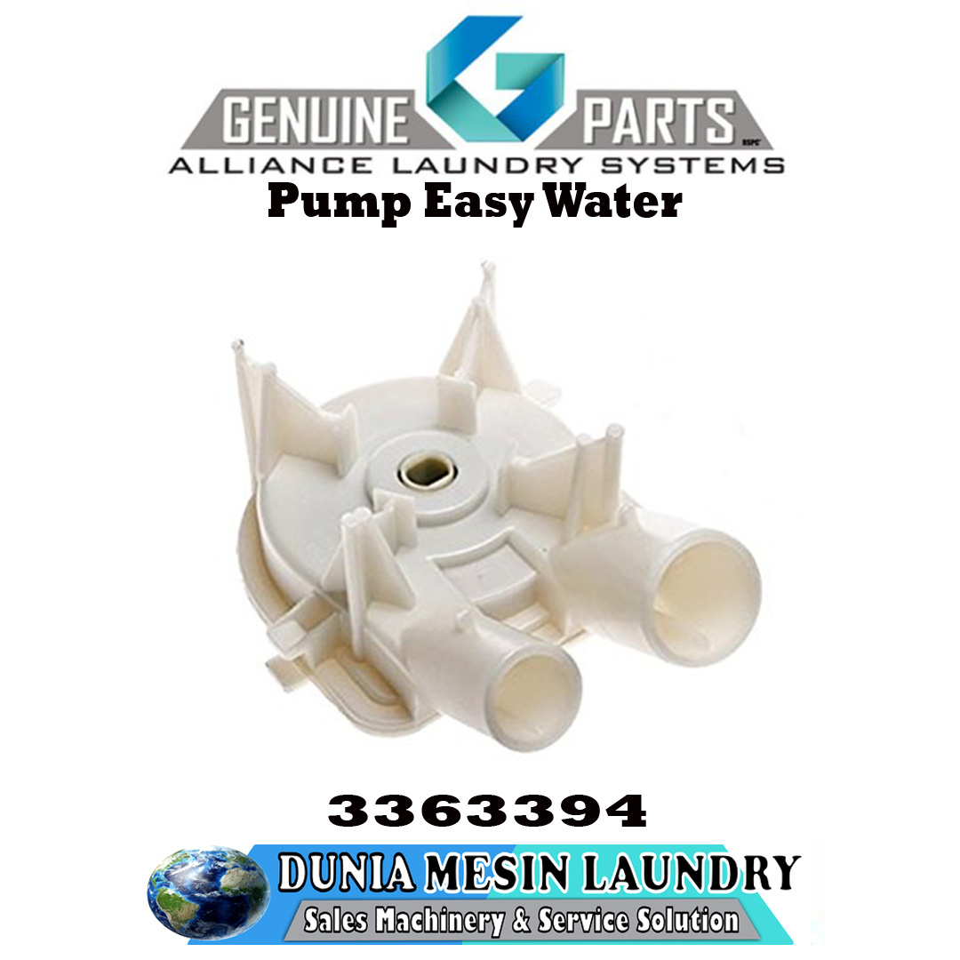 SPARE PARTS WHIRLPOOL, Pump Easy Water Original Genuine Parts Alliance Laundry System.