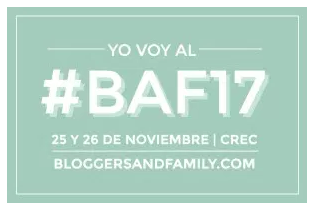 Logo BAF17 Bloggers and Family 2017