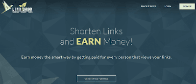 Linkshrink url link shortner