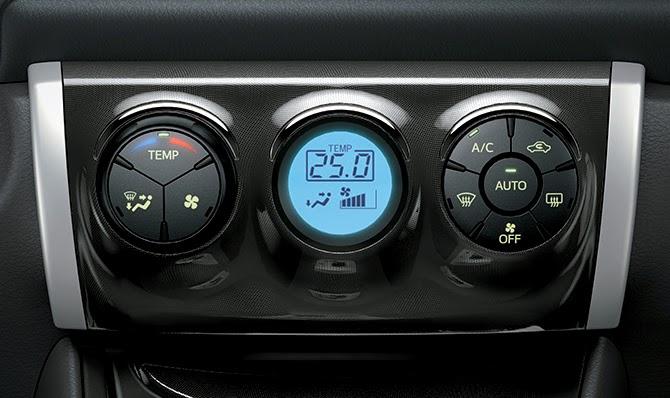 Hệ thống điều hòa tự động trên Toyota Vios G