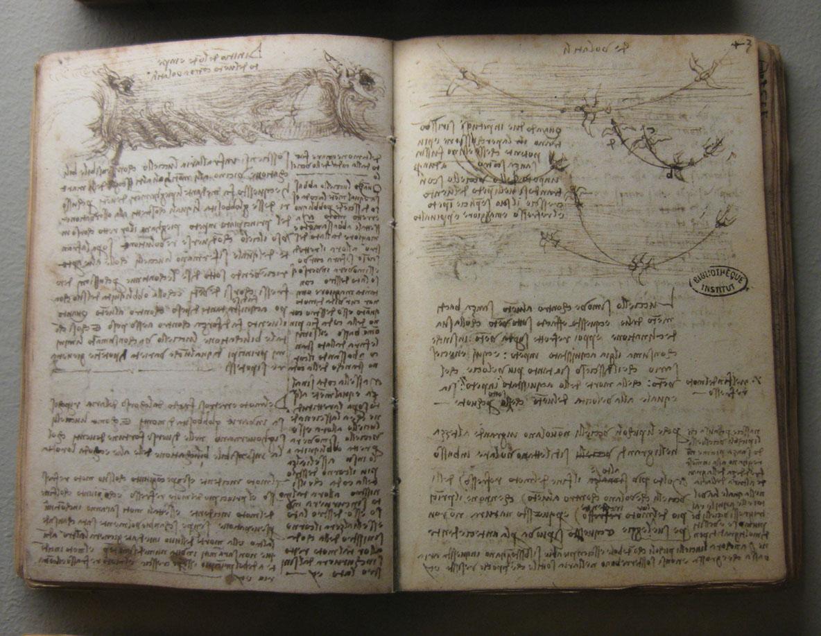The Codex Leicester Adalah Notebook Pengamatan Ilmiah Yang Dihasilkan Oleh Leonardo Da Vinci Antara  Ini Berbeda Dari Buku Buku Sebelumnya