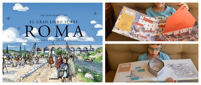 los mejores libros informativos para niños, libros conocimientos roma