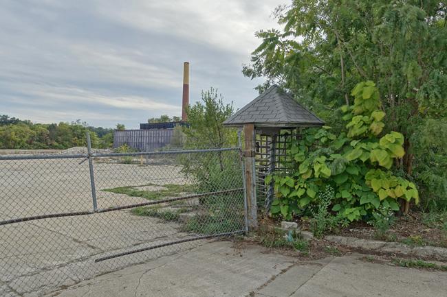 Clark Equipment Company Gate in Buchanan, Michigan