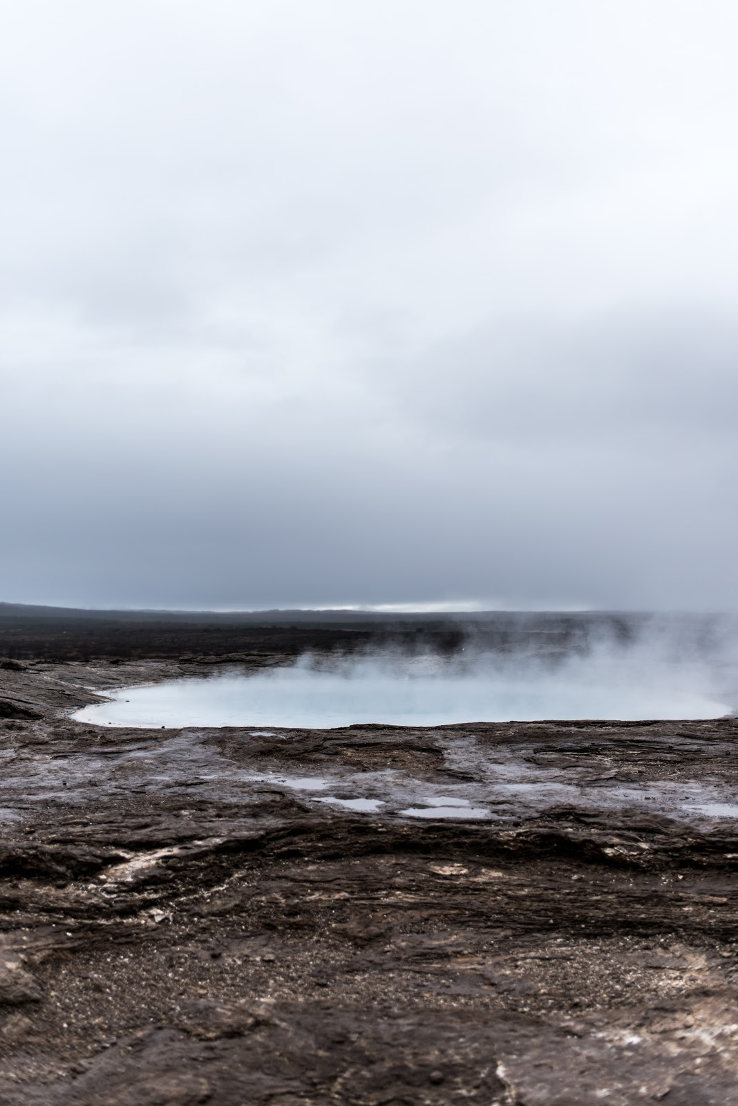 von vogue iceland travel Haukadalur geysir