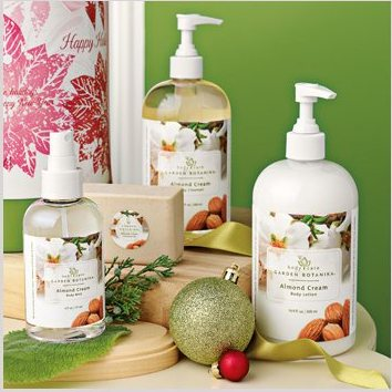 Garden Botanika Warm Thoughts Almond Cream Gift Collection