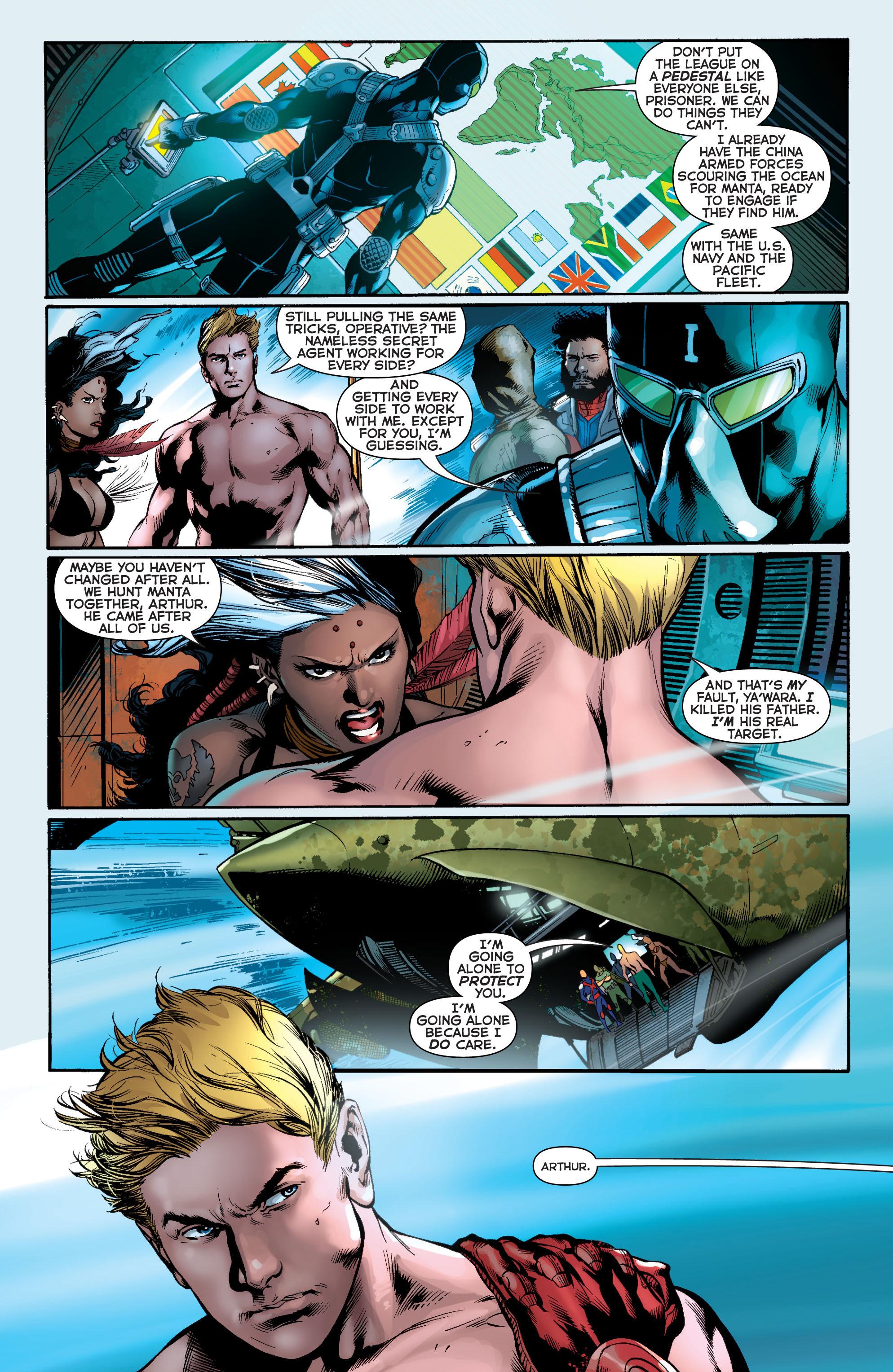 Read online Aquaman (2011) comic -  Issue #11 - 12