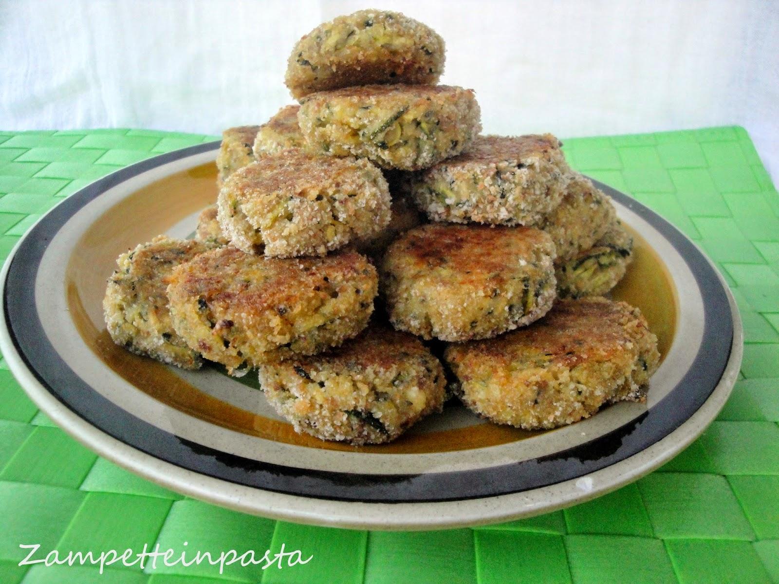 Polpette al forno con feta e zucchine - Ricetta con le zucchine