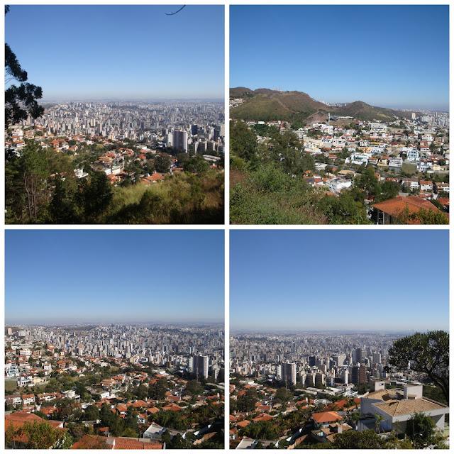 Belo Horizonte vista do Mirante das Mangabeiras