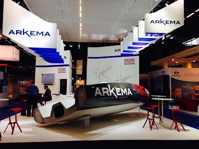 Elium, résine composite recyclable, pour le nouveau Mini Arkema.