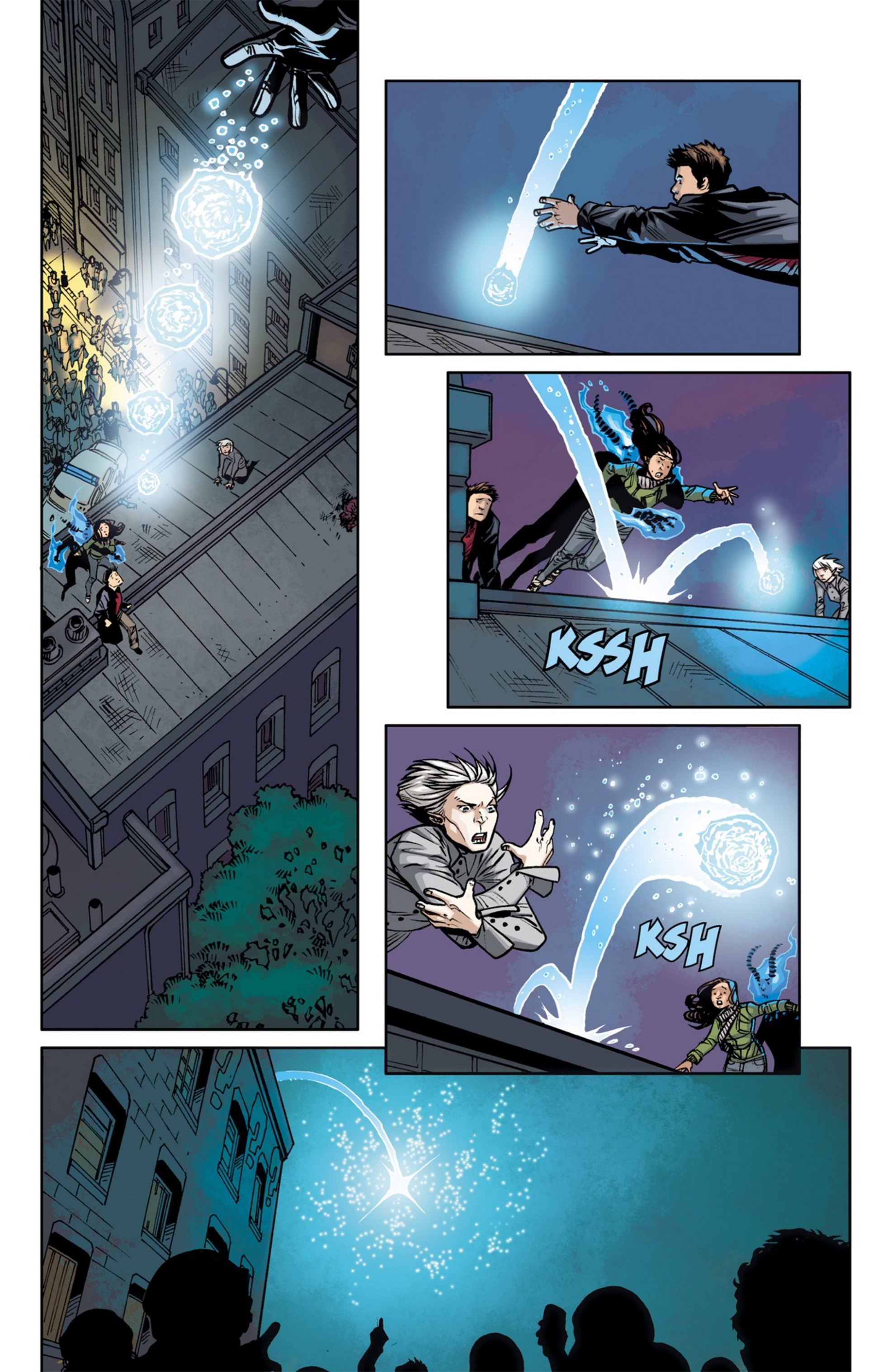 Read online Angel and Faith comic -  Issue #23 - 24
