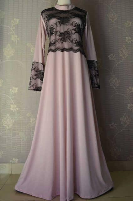 24 Contoh Model Baju Muslim Brokat Terbaru dan Terbaik ...
