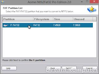 Kelebihan, Kekurangan, NTFS, FAT32, Convert, Rubah