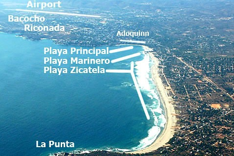 Playas de Puerto Escondido