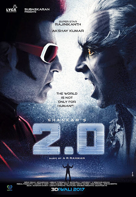 "Shankar's ""2.0"" First Look Posters"
