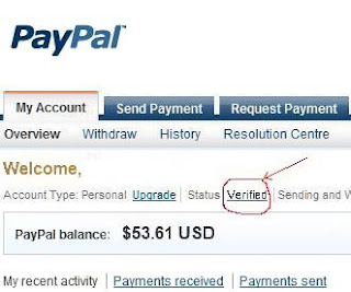 Verified Paypal with Bank Account