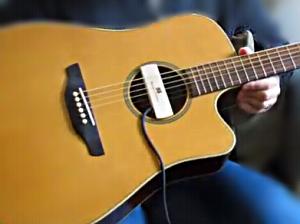 Jenis atau Tipe Pickup Gitar Akustik - Belajar Gitar Akustik