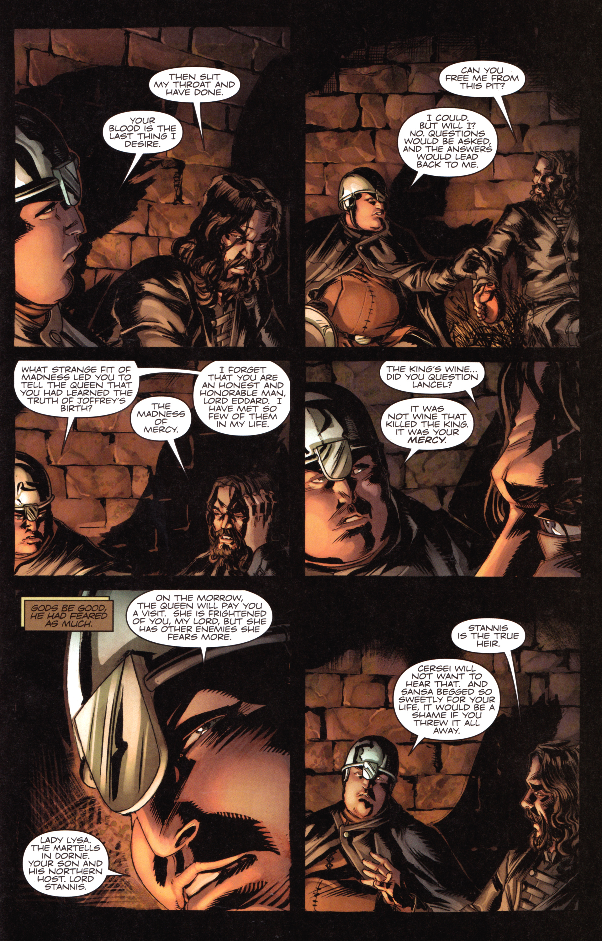 Read online A Game Of Thrones comic -  Issue #18 - 29