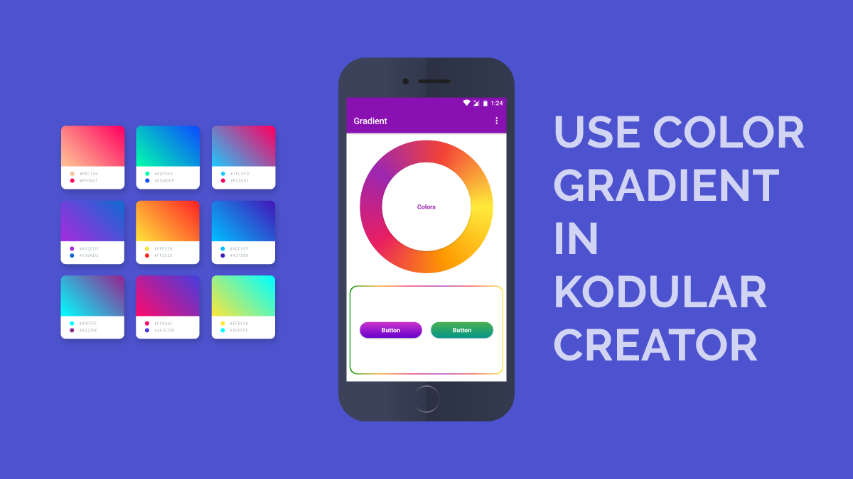 ColorGradient on KodularCreator