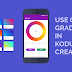 How to use Color Gradient  in Kodular and other App Inventor based platforms?