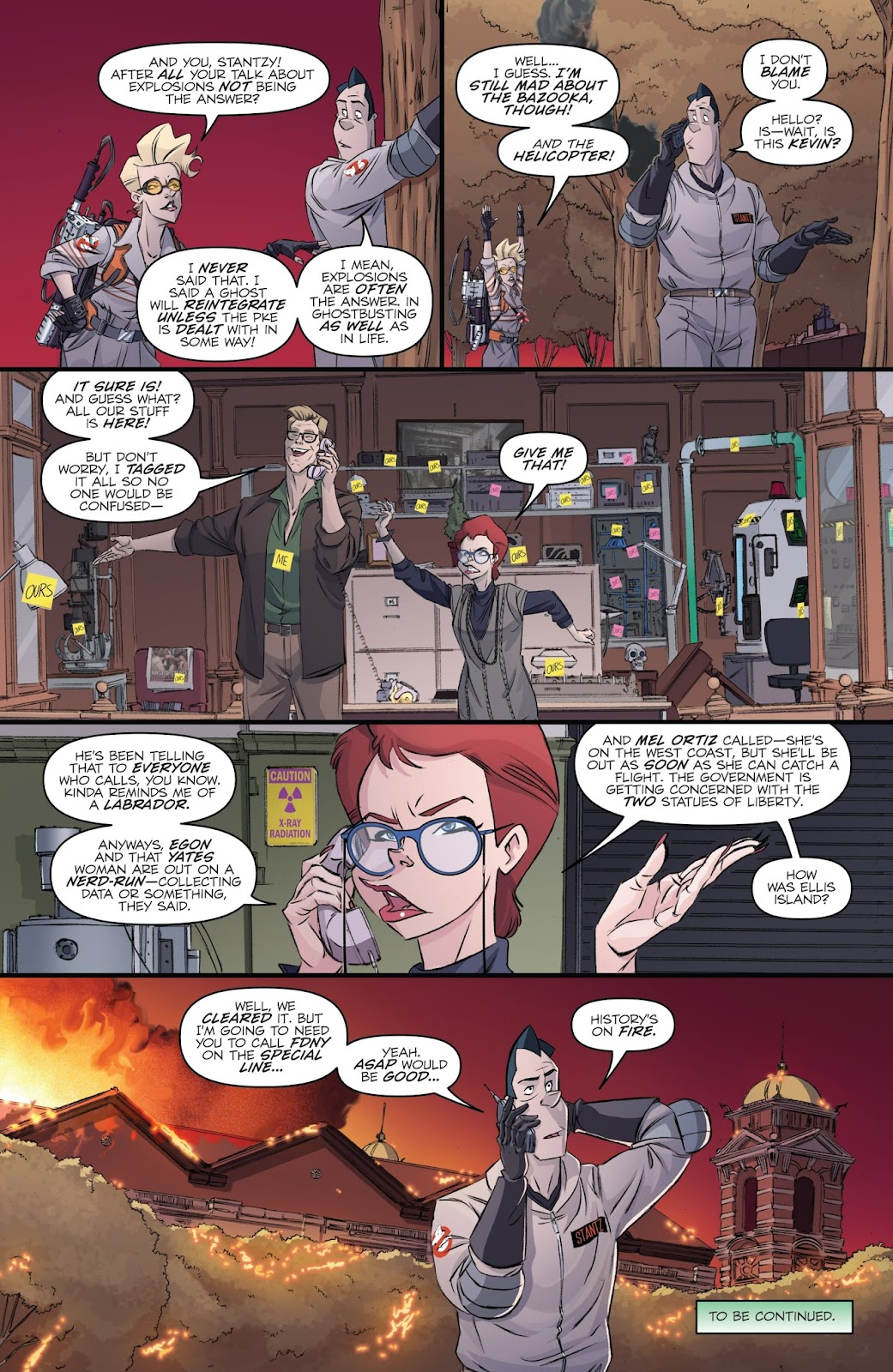Read online Ghostbusters 101 comic -  Issue #4 - 24