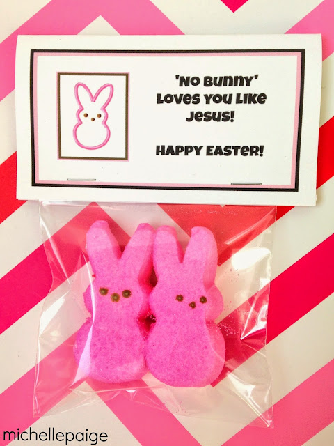 No Bunny Loves You Like Jesus Printable @michellepaigeblogs.com
