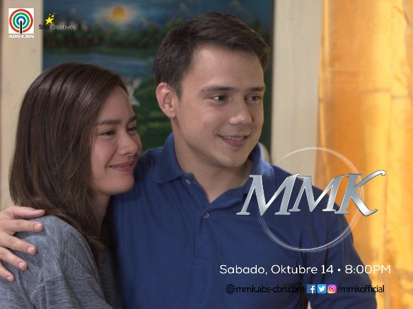 Erich Gonzales and Patrick Garcia reunite on MMK