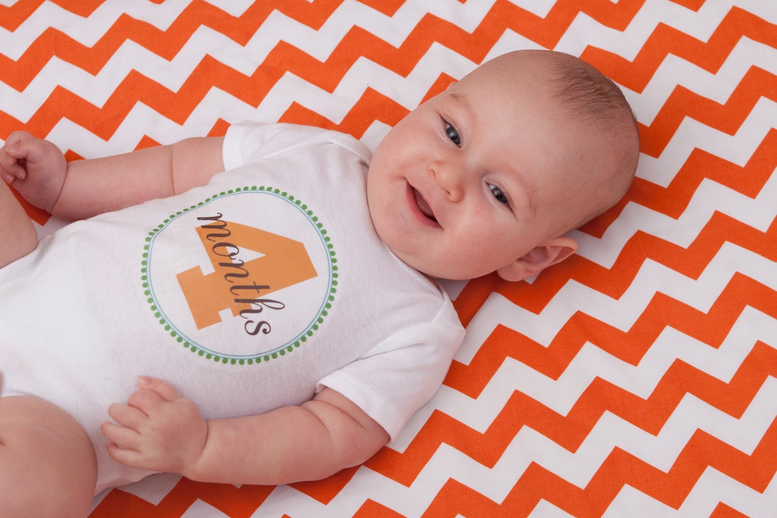 Baby Boy Turned 4 Months! - Klein dot Co
