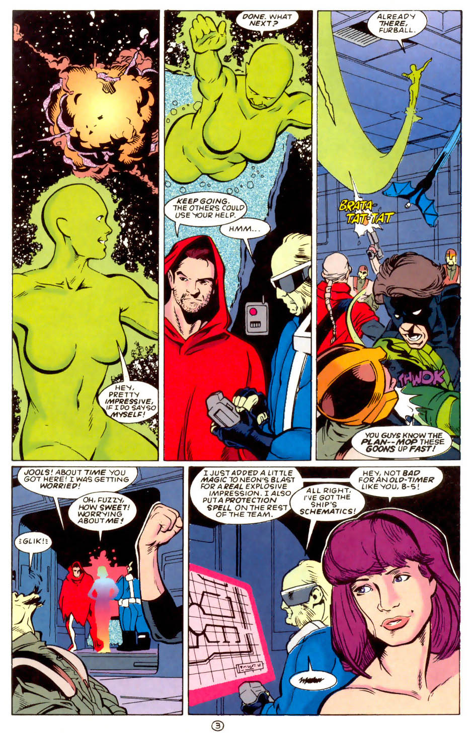 Legion of Super-Heroes (1989) 58 Page 3
