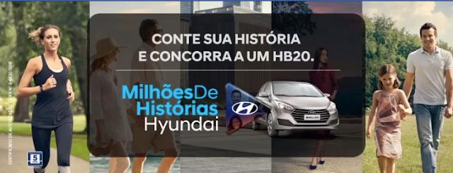 """Promoção: """"Milhões de Histórias Hyundai"""" Blog Top da Promoção #topdapromocao @topdapromocao www.topdapromcoao.com.br http://topdapromocao.blogspot.com facebook instagram twitter pinterest youtube blogger sorteio prêmios carro dinheiro sorte"""