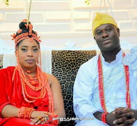 ooni ife wife arrive enuwa