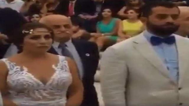 في سوريا.. زواج أسطوري بنكهة قومية سورية حزبية!! فيديو
