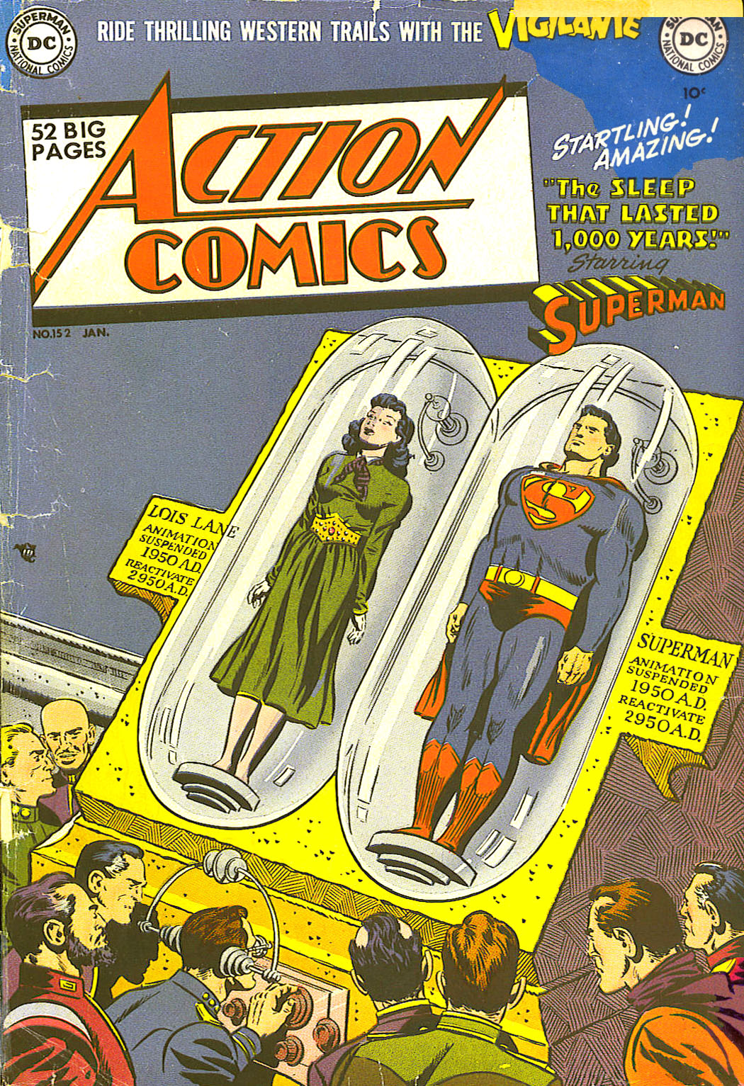 Action Comics (1938) 152 Page 1