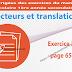 Exercice 03 page 65 - Vecteurs et translations
