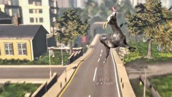 Download Game Gratis: Goat Simulator [Full Version] - PC