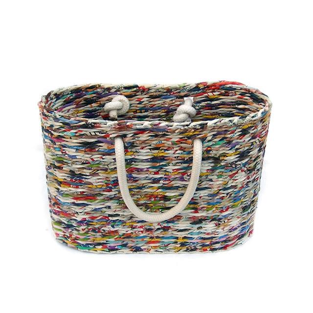 torba z papierowej wikliny