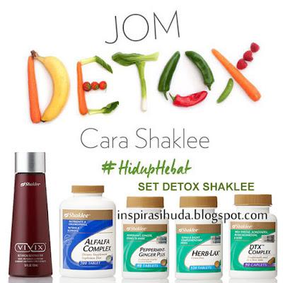 set detox shaklee, detoks, hiduphebat, liveamazaing, poweredbysms, shaleedetox, inspirasihuda,