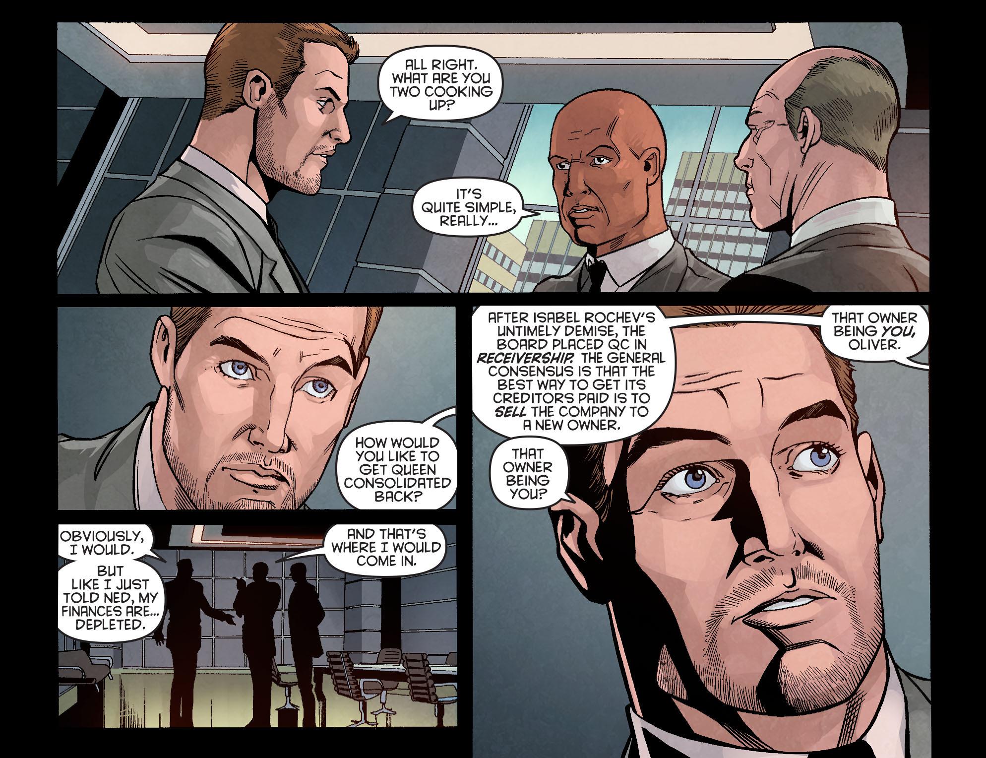 Read online Arrow: Season 2.5 [I] comic -  Issue #10 - 6