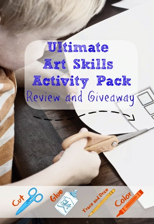 Ultimate Art Skills Activity Pack Review and Giveaway