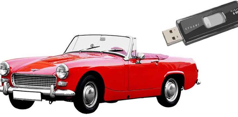 Format Flashdisk yang Tidak Terbaca di Tape Mobil