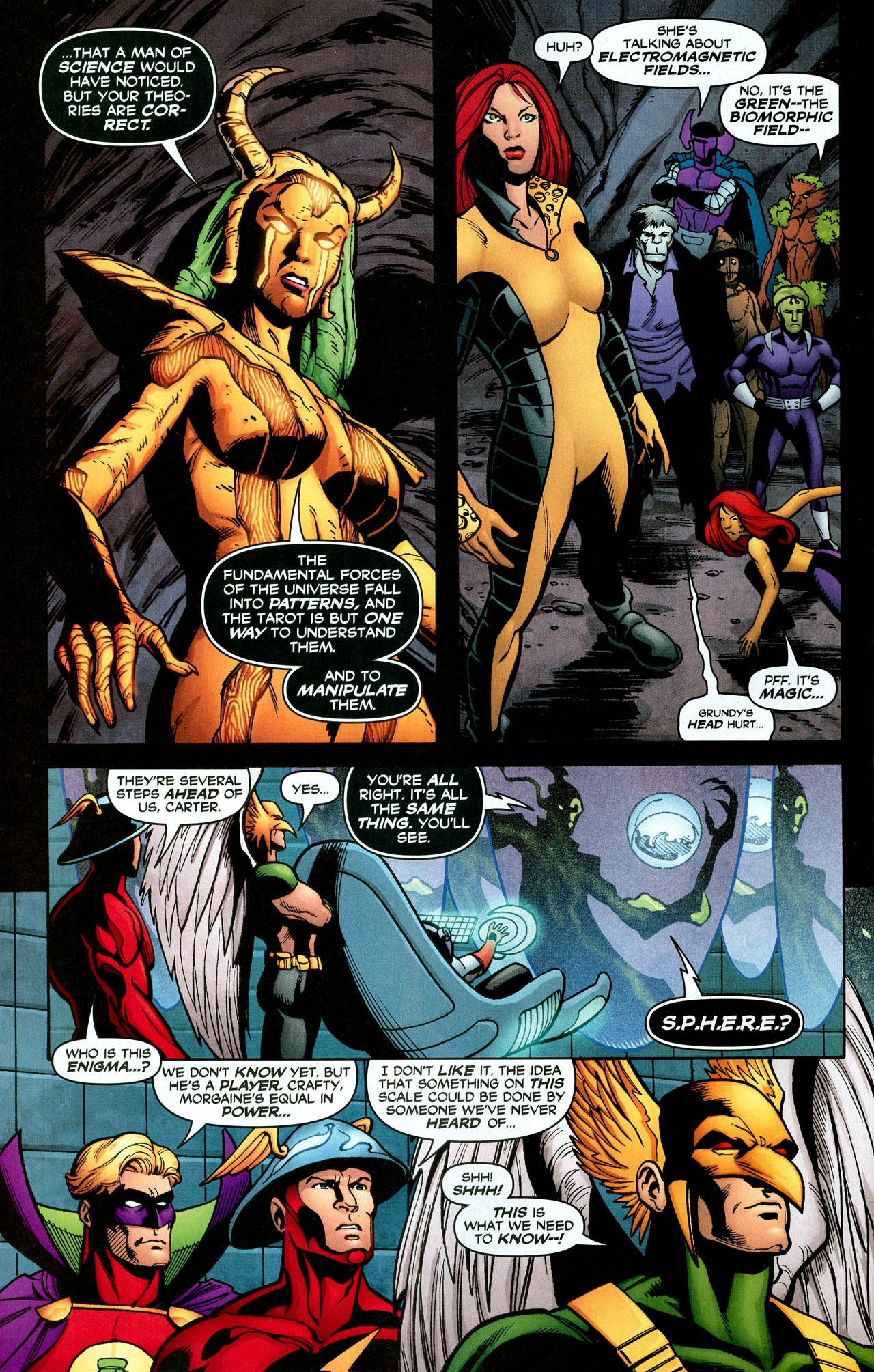 Read online Trinity (2008) comic -  Issue #30 - 29